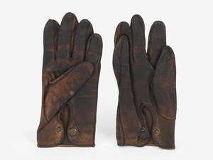 Gloves, leather (McCudden VC)