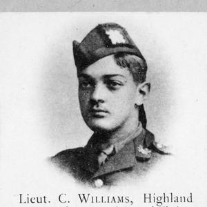 LIEUTENANT CYRIL WILLIAMS, HIGHLAND LIGHT INFANTRY AND NO. 60 SQUADRON, ROYAL FLYING CORPS