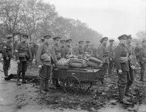 THE HOUSEHOLD BRIGADE IN BRITAIN, 1916