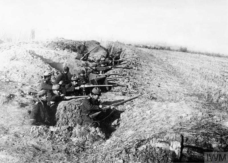 Fighting In The Trenches Imperial War Museums