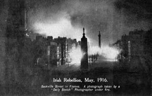 THE EASTER RISING IN DUBLIN, IRELAND, APRIL 1916