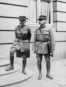 THE ALLIED MILITARY PLANNING DURING THE FIRST WORLD WAR
