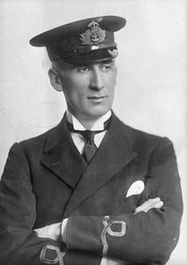 SUB-LIEUTENANT H F WALLACE, ROYAL NAVAL VOLUNTEER RESERVE, HMS PRESIDENT
