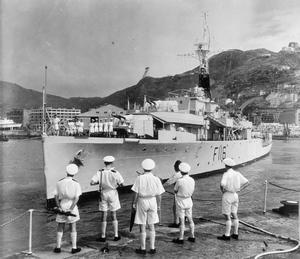 SCENES ABOARD HMS AMETHYST, APRIL - SEPTEMBER 1949