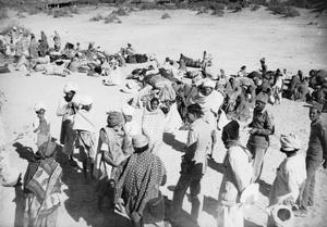 SERVICE OF CAPTAIN H A K HOOD WITH 5/8 PUNJAB REGIMENT, INDIAN ARMY ON THE NORTH WEST FRONTIER, INDIA, 1942 - 1943