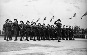 SCENES AT RAF GATOW DURING THE BERLIN AIRLIFT, 1948