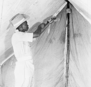 MALARIA CONTROL IN EAST AFRICA COMMAND, C. 1945