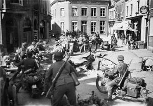 THE GERMAN ARMY IN FRANCE, MAY 1940