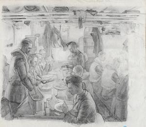 Trainees Aboard Ship