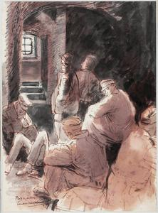 Prisoners-of-War in a Cellar, Tauberbischofsheim