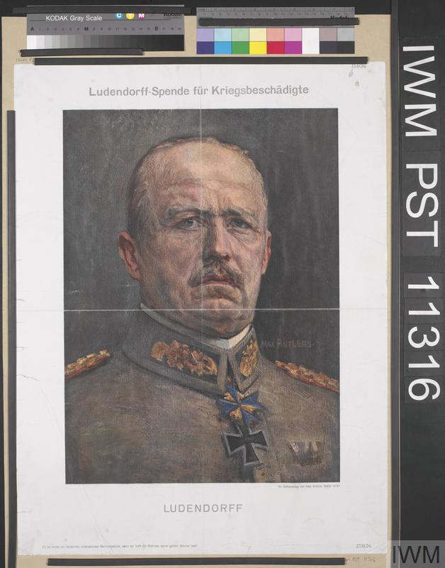 Ludendorff-Spende für Kriegsbeschädigte [Ludendorff Collection for the War Wounded]