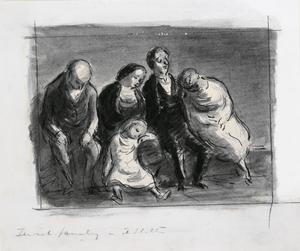 A Jewish Family in a Shelter