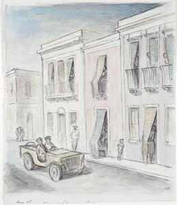Women Watch Us in the Street of Mangano, Sicily, August 10th 1943