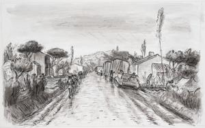 With the 8th Army on the Sangro, November 1943: the Road to Casalbordino in the Rain
