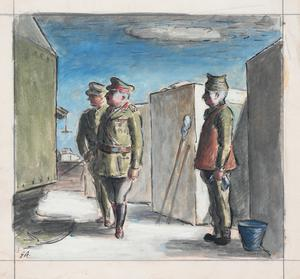 The Brigadier Inspects an AA Site
