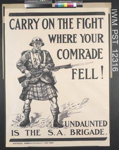 Carry On the Fight Where Your Comrade Fell!