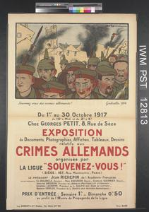 Exposition - Crimes Allemands [Exhibition - German Crimes]