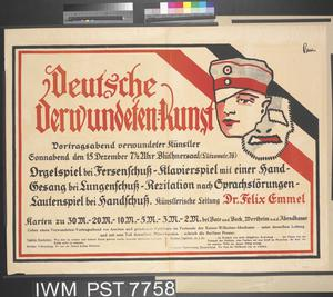 Deutsche Verwundeten-kunst [Art by Wounded German Soldiers]