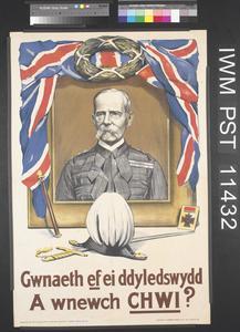 Gwnaeth ef ei Ddyledswydd - A Wnewch Chwi? [He did his Duty - Will You do Yours?]
