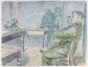 A Court-Martial, Halluin
