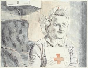 Nurse Savage, VAD : Colchester Military Hospital