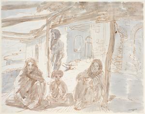 Rabiah, Karim, Khagiza : wife, son and niece of Shaikh Shadid Sahib