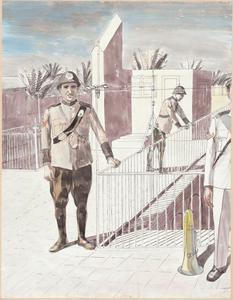 Baghdad: An Illustration of Iraqi Policemen's Uniforms