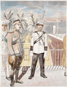 Baghdad: An Illustration of Iraqi Policemen's Uniforms