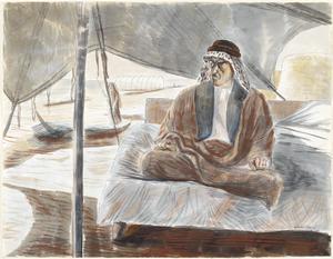 Shaikh Raisan al-Gassid, Brother of Shaikh Muzhir al-Gassid