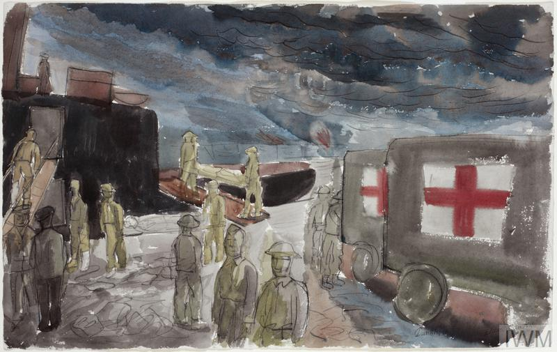 Dunkirk: Embarkation of Wounded, May 1940