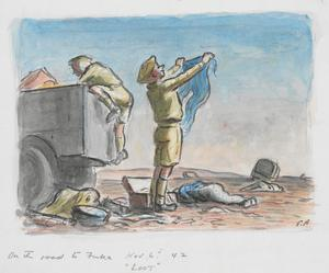 On the Road to Fuka, November 6th 1942: Loot