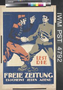 Lest die Freie Zeitung [Read the 'Freie Zeitung']