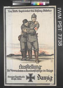 Ausstellung für Verwundeten und Krankenfürsorge im Kriege [Exhibition for the Care of the Wounded and Sick in the War]