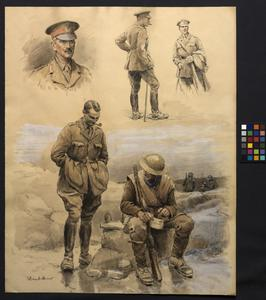 Studies of British Soldiers