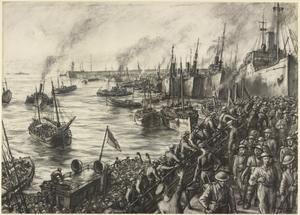 The Return from Dunkirk: Arrival at Dover