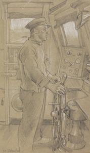 The Coxswain of a Rescue Motor Launch