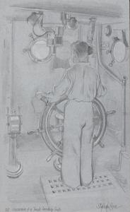 The Coxswain of a Tank Landing Craft