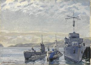 "HM Submarines : ""Veracious"", ""Sea-Lion"" and ""La Cordelière"""