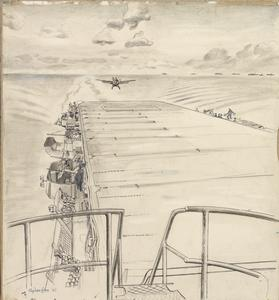 Landing on HMS Pursuer : November 1943