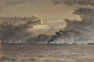 Off Walcheren : 1st November 1944