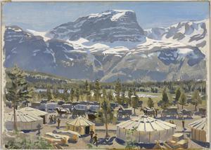 A British Camp near Skibotn