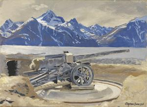 German Guns at Djupvik : Lyngen Fjord