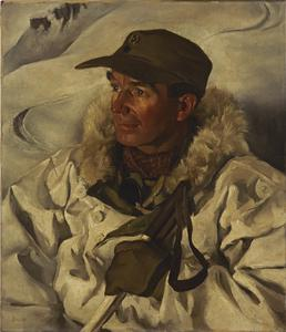 Major W J Riddell, Chief Instructor of the Mountaineer Wing of the Mountain Warfare School, MEF