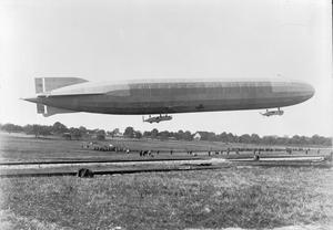 ZEPPELIN AIRSHIPS DURING THE FIRST WORLD WAR