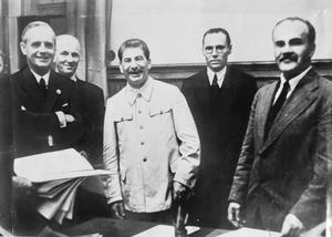 Nazi Soviet Non Aggression Pact Ribbentrop Molotov Pact