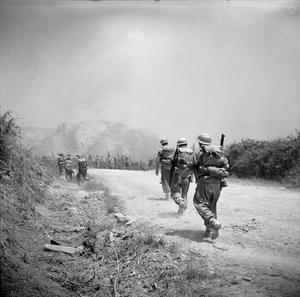 SECOND WORLD WAR 1939 - 1945: ALLIED CAMPAIGN IN ITALY, CASSINO