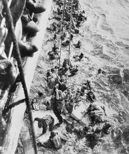 THE SINKING OF THE BISMARCK, MAY 1941