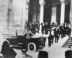 ARCHDUKE FRANZ FERDINAND IN SARAJEVO, JUNE 1914