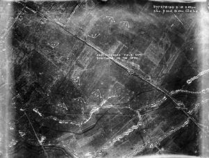 AERIAL PHOTOGRAPHY ON THE WESTERN FRONT, 1918.