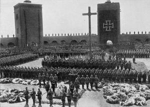 THE FUNERAL OF PAUL VON HINDENBURG, 1934